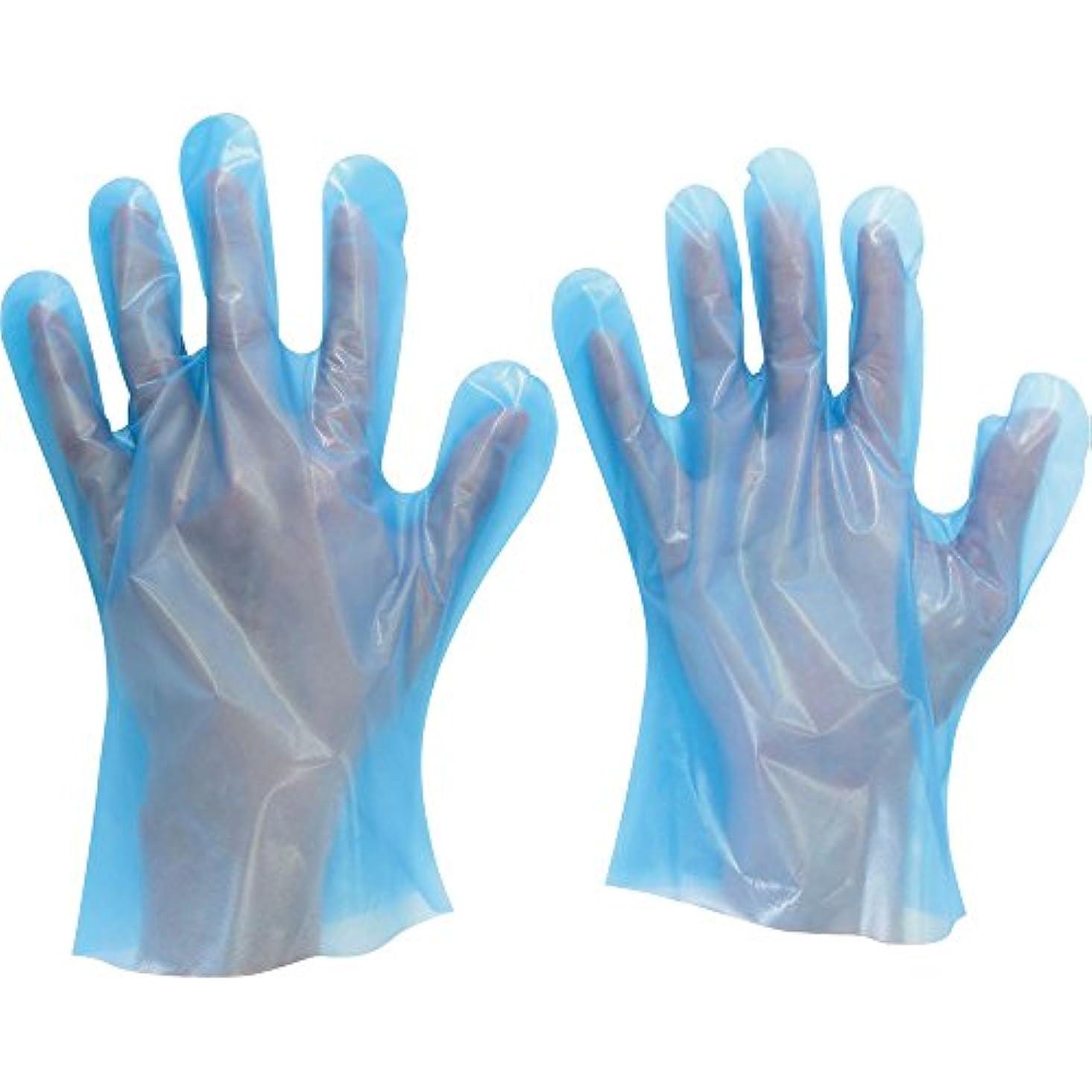 長さ温帯請求ミドリ安全 ポリエチレンディスポ手袋 ベルテ585 100枚 袋入 S VERTE-585-S ポリエチレン使い捨て手袋