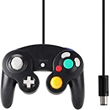 Gamecube Controller Classic NGC Wired Controller for Wii Gamecube 1 Pack (Black)