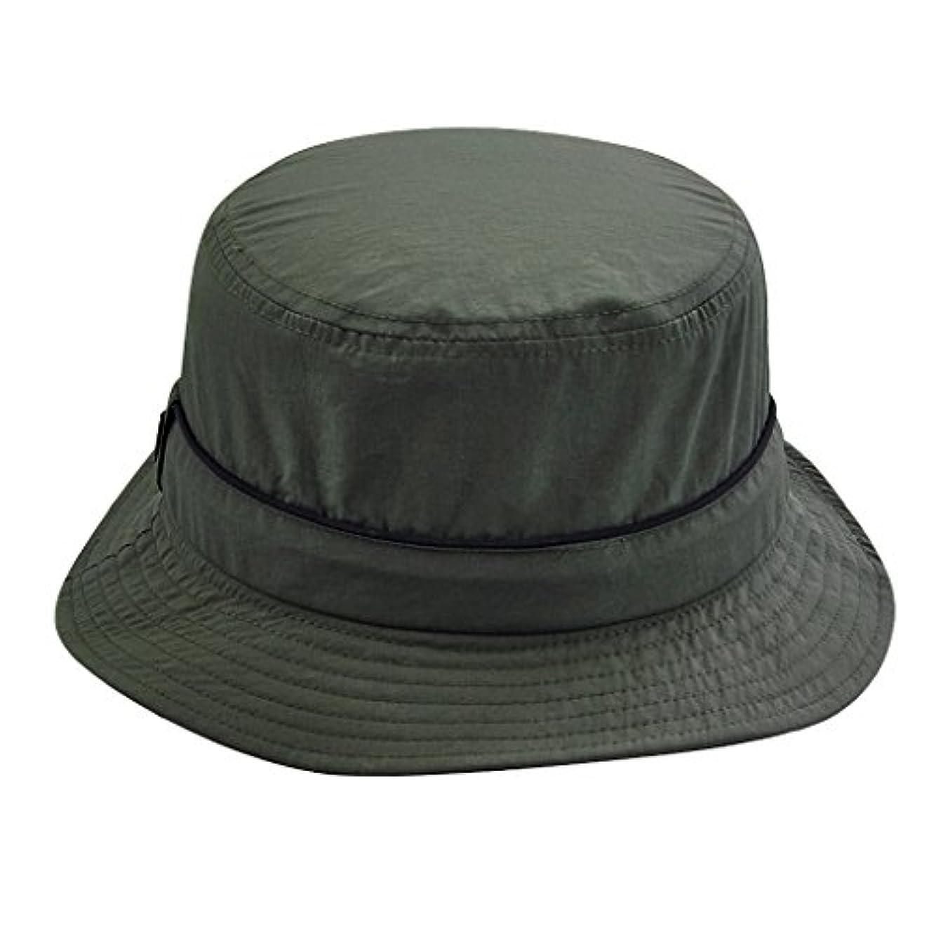 浮く状勇気Prettyia 屋外用 帽子 キャップ ハット 男女用 釣り キャンプ 登山 日焼け止め 軽量 快適 保護 全5色