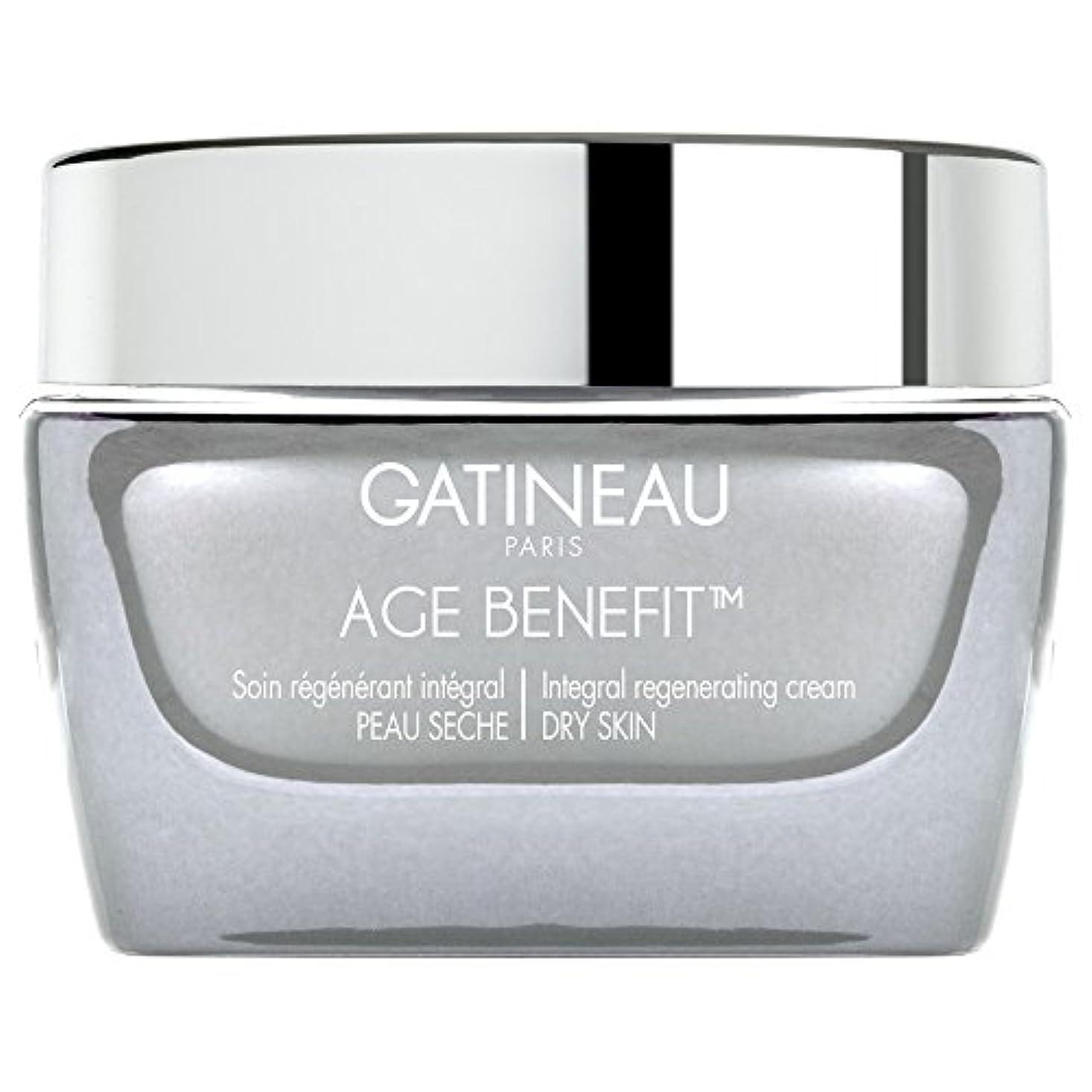 誇りプレーヤー安全なガティノー年齢給付再生ドライスキンクリーム、50ミリリットル (Gatineau) (x6) - Gatineau Age Benefit Regenerating Dry Skin Cream, 50ml (Pack...