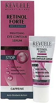 Revuele Retinol Forte Brightening Eye Contour Serum, 25ml, 25 milliliters