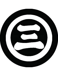 家紋シール 丸に三の字紋 布タイプ 直径40mm 6枚セット NS4-0595