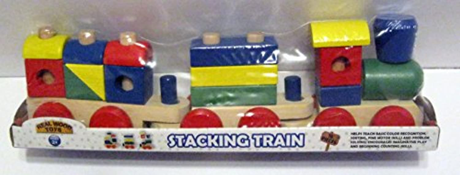 Stacking Train by Real木製Toys