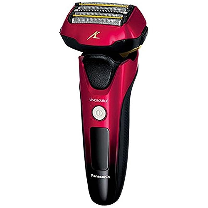 奇妙なフローティング果てしないパナソニック 電気シェーバー (赤)Panasonic ラムダッシュ 【5枚刃】 ES-LV5B の限定モデル ES-CLV5B-R
