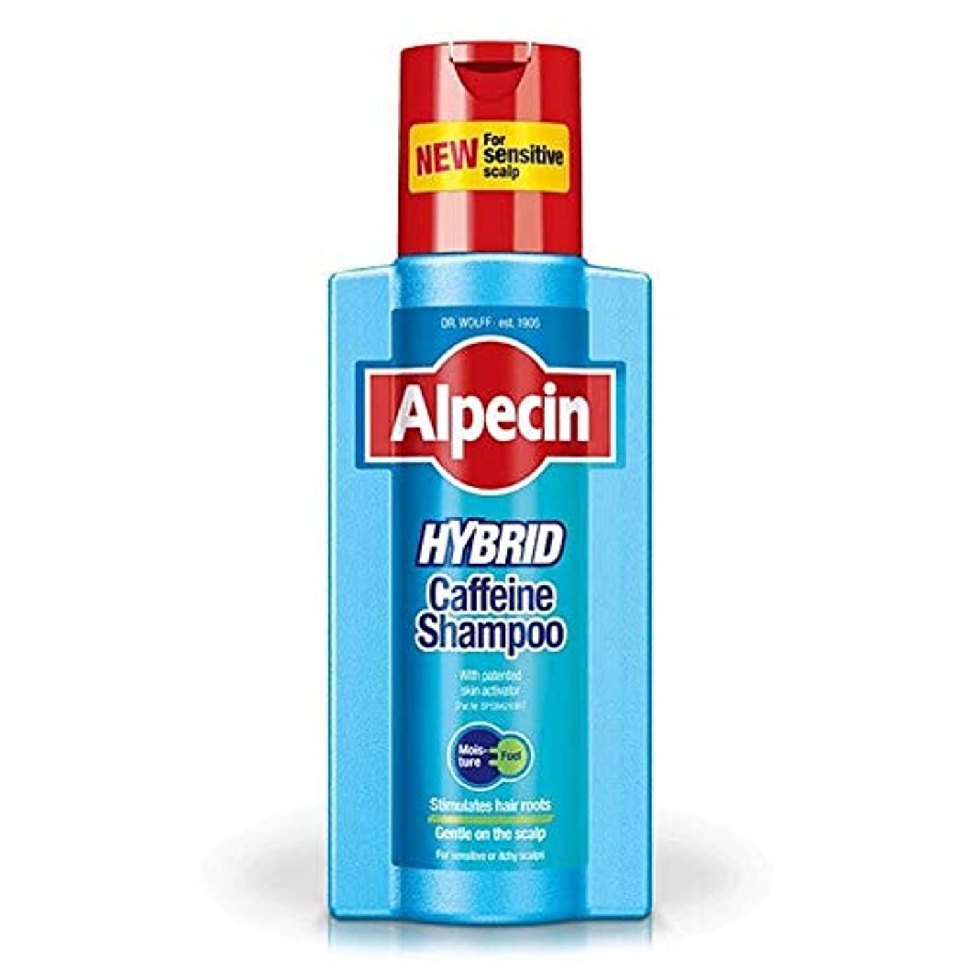 詳細な再現する鷲[Alpecin] ハイブリッドシャンプー375ミリリットルAlpecin - Alpecin Hybrid Shampoo 375ml [並行輸入品]