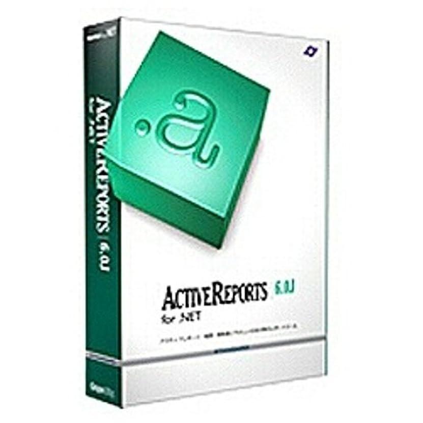 嫉妬農奴クラックポットActiveReports for .NET 6.0J Professional 1開発Lパッケージ