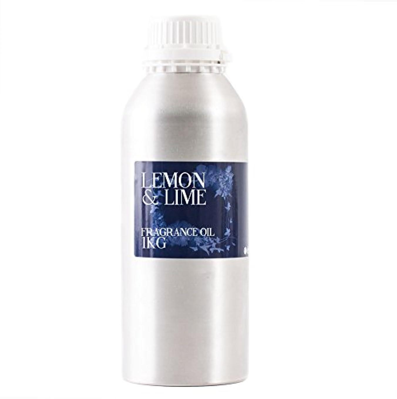 横向き端末抗生物質Mystic Moments | Lemon & Lime Fragrance Oil - 1Kg
