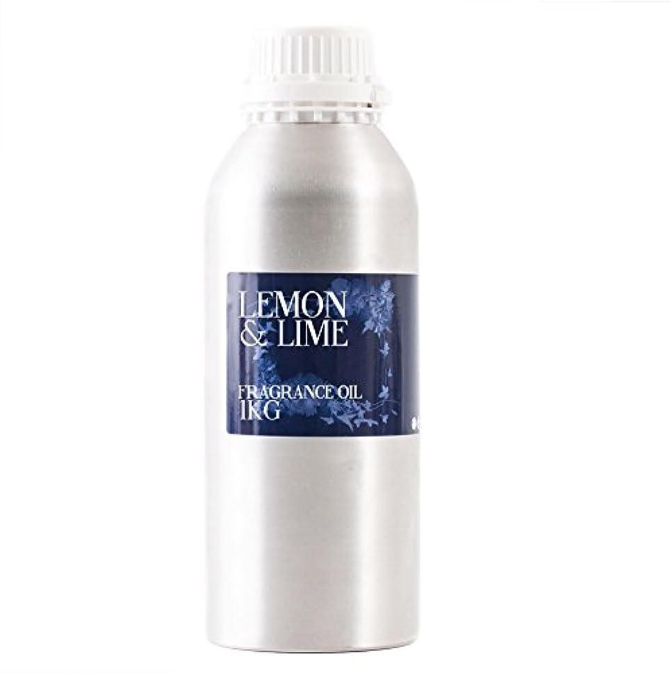タンパク質救急車出くわすMystic Moments | Lemon & Lime Fragrance Oil - 1Kg