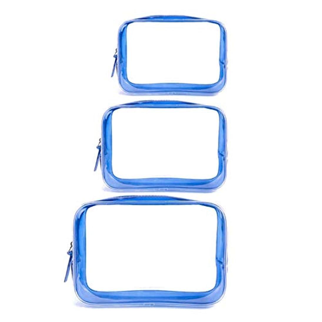 頻繁に医学くすぐったいSurui 化粧ポーチ トラベルポーチ 収納ポーチ レディース 化粧バッグ 3枚セット 収納バッグ 女性 多機能 化粧 ポーチ 収納 透明 バッグ 防水 大容量 PVC 小物入れ ジッパー式 旅行出張用
