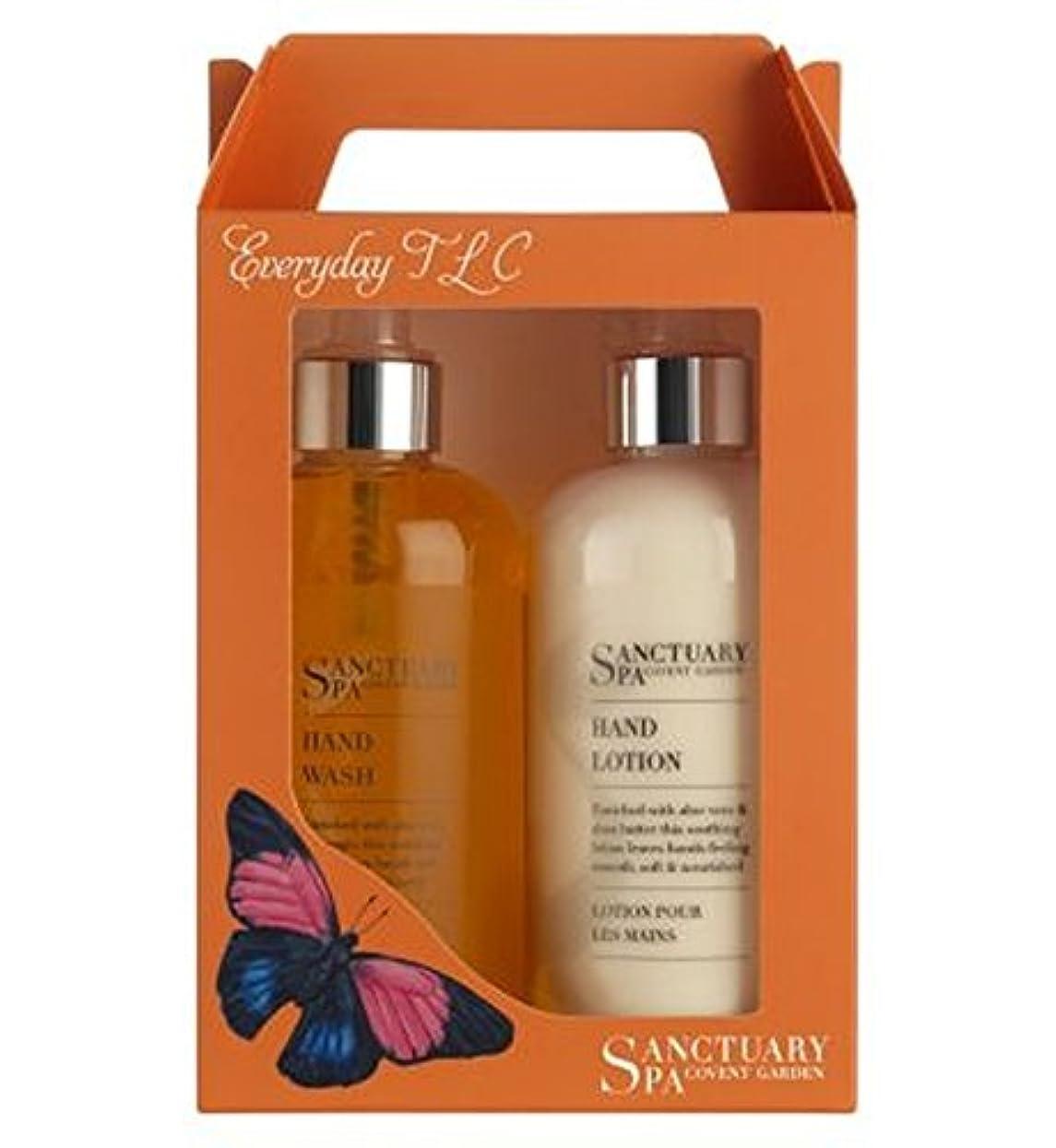 香水測定植物のSanctuary Everyday TLC Handcare Duo - 聖域日常のTlc Handcareデュオ (Sanctuary) [並行輸入品]