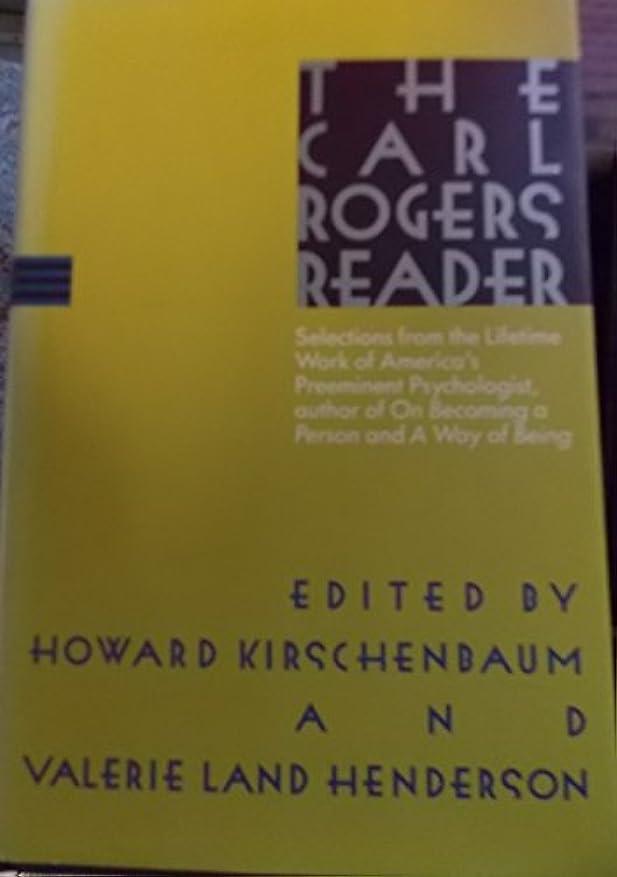 法医学名前承認するCarl Rogers Reader Hb