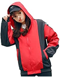 ナナコレクション Nana_Collection 秋 春 ジャンパー ウィンドブレーカー 長袖 英字 ロゴ 羽織 ジッパー ファスナー