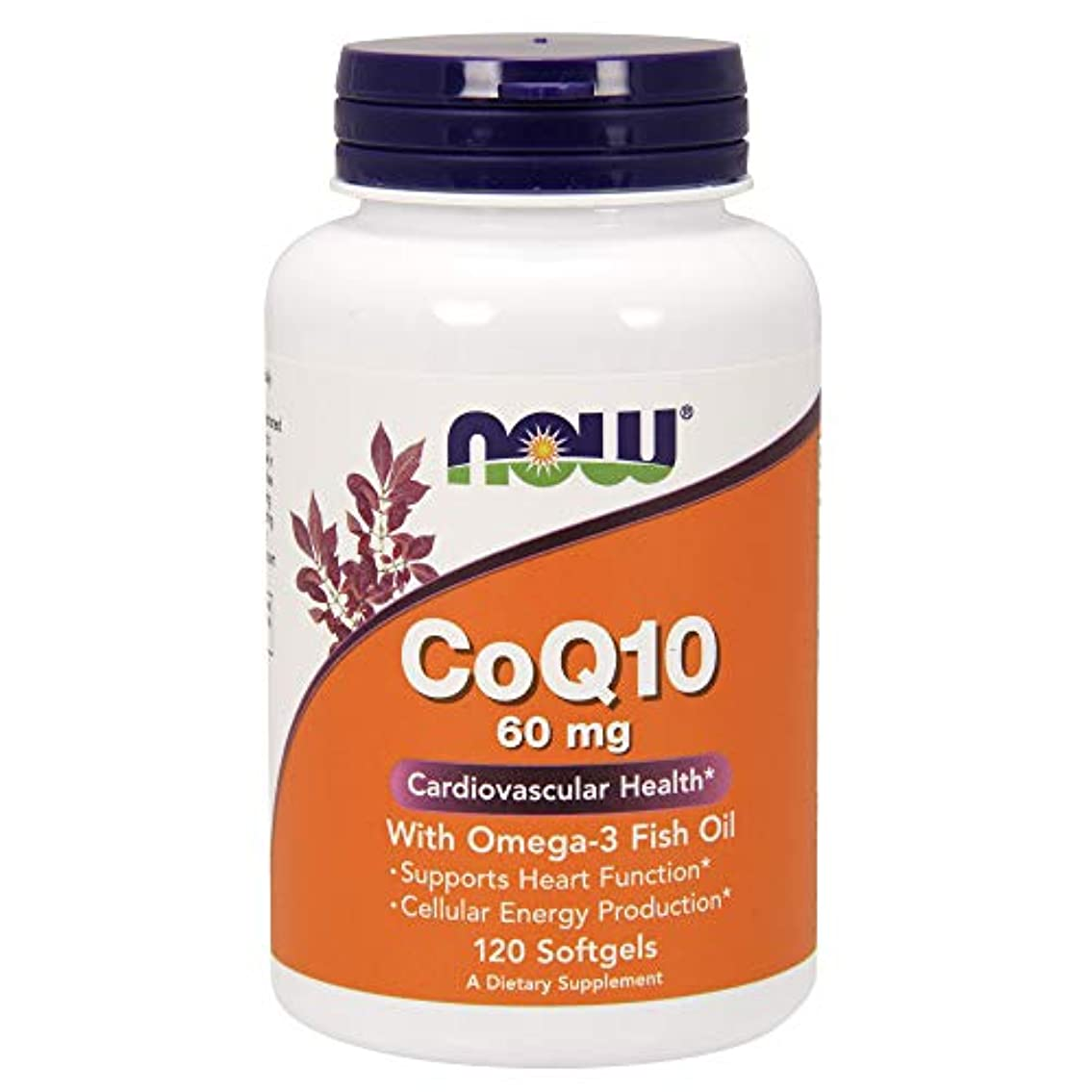 [海外直送品] ナウフーズ CoQ10?オメガ3魚油配合 120錠