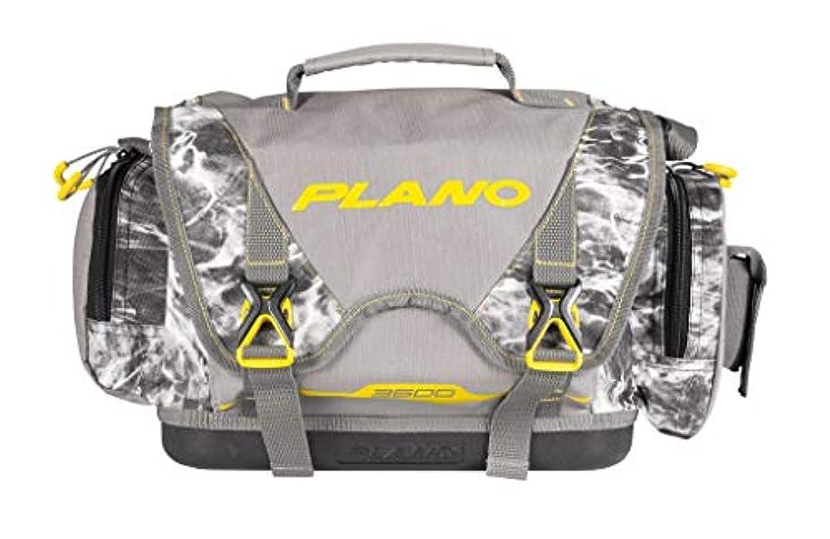 溶岩不実アイザックPlano Bシリーズ 3600 モッシーオーク マンタ タックルバッグ タックル収納4つ付き