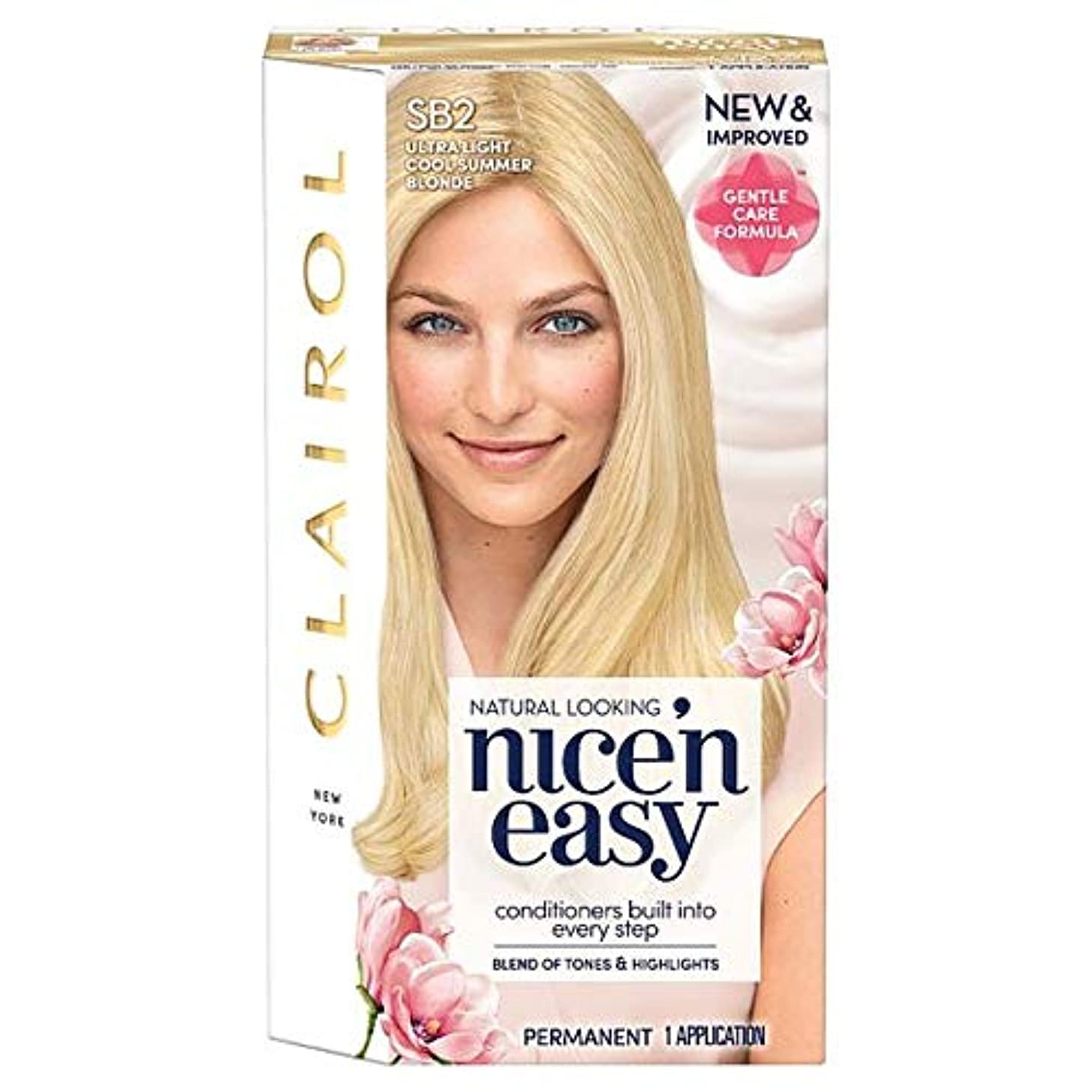 運命的な化学積分[Nice'n Easy] クレイロール素敵な「N簡単超軽量夏ブロンドSb2の染毛剤 - Clairol Nice 'N Easy Ultra Light Summer Blonde Sb2 Hair Dye [並行輸入品]
