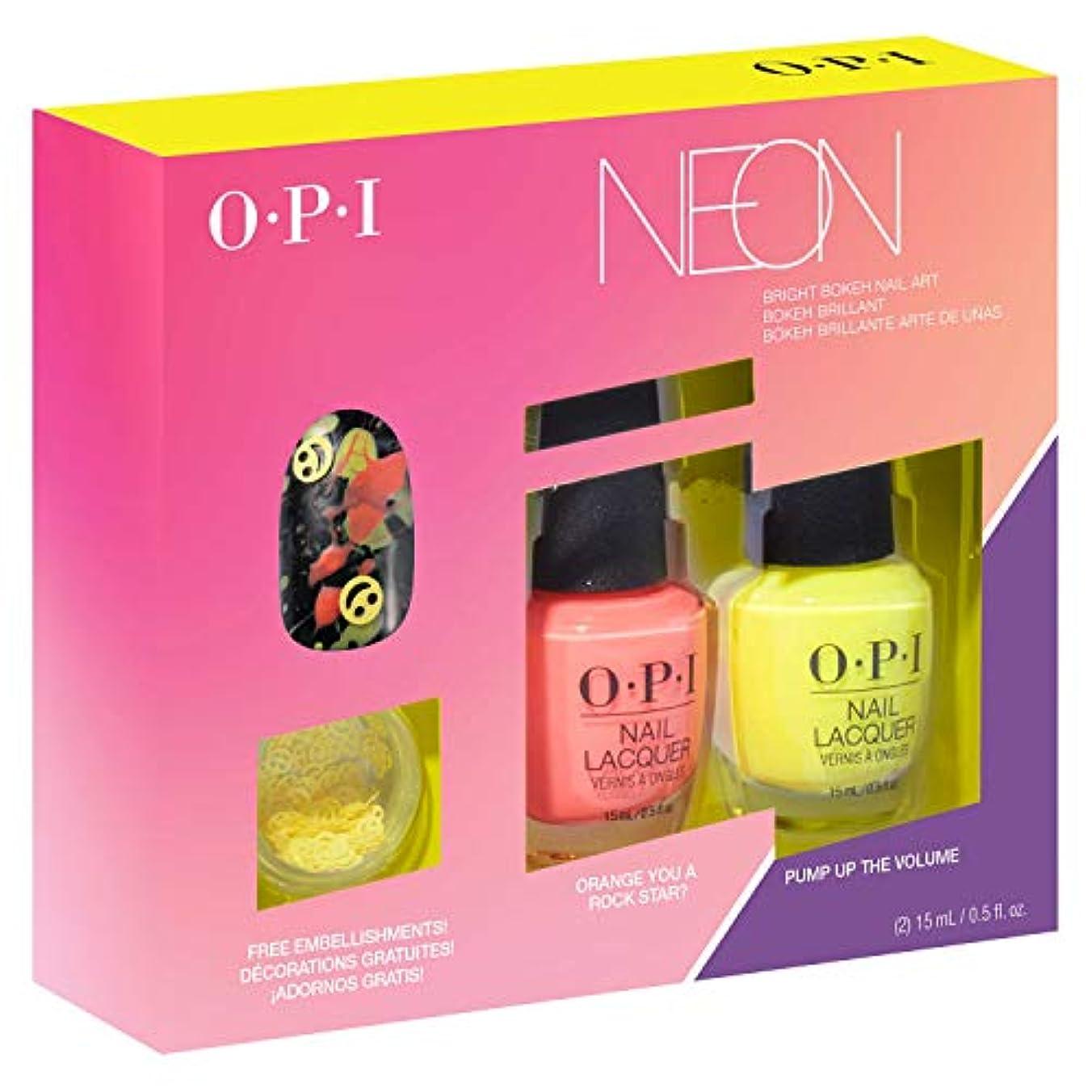 既に素晴らしい良い多くの賞OPI(オーピーアイ) ネオン バイ オーピーアイ ネイルラッカー デュオパック #2