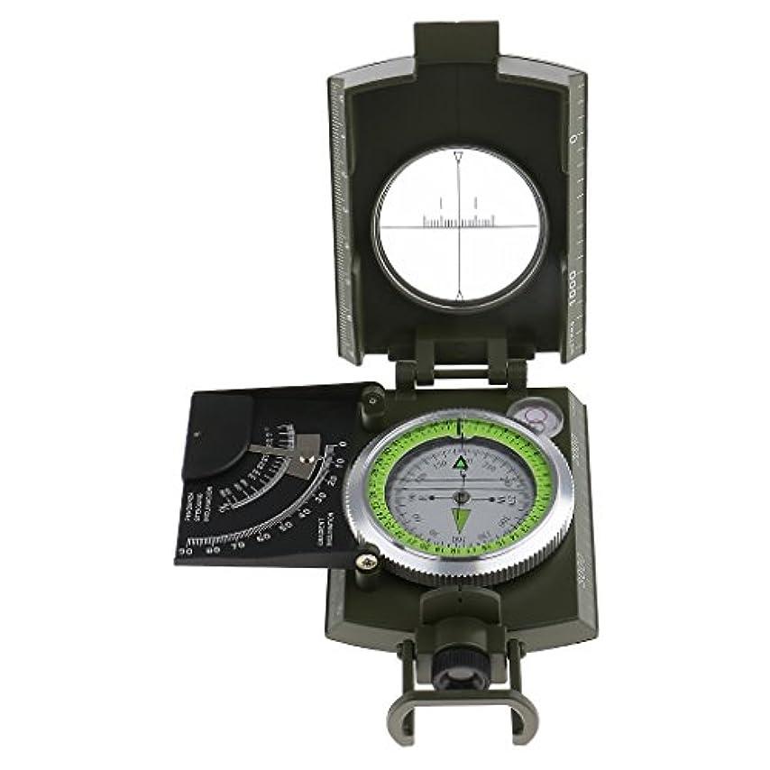 直立最適上院SONONIA  屋外 キャンプ ハイキング 高精度 ポケット 地質学 コンパス 傾斜計
