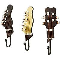 3個ギター形のフック、綺麗で、 壁を 傷つけないですよ