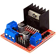 Flameer L298N Motor Drive Controller Board Module Dual H Bridge DC Stepper for DIY RC Toy Car Tank Chassis Remote Control Development(1PCS)