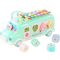 QXMEI おもちゃ 子供 知的 パワー ビルディングブロック おもちゃ 0-1-2-3歳 男の子 女の子 幼児 早期 子供の赤ちゃん 啓発 おもちゃ