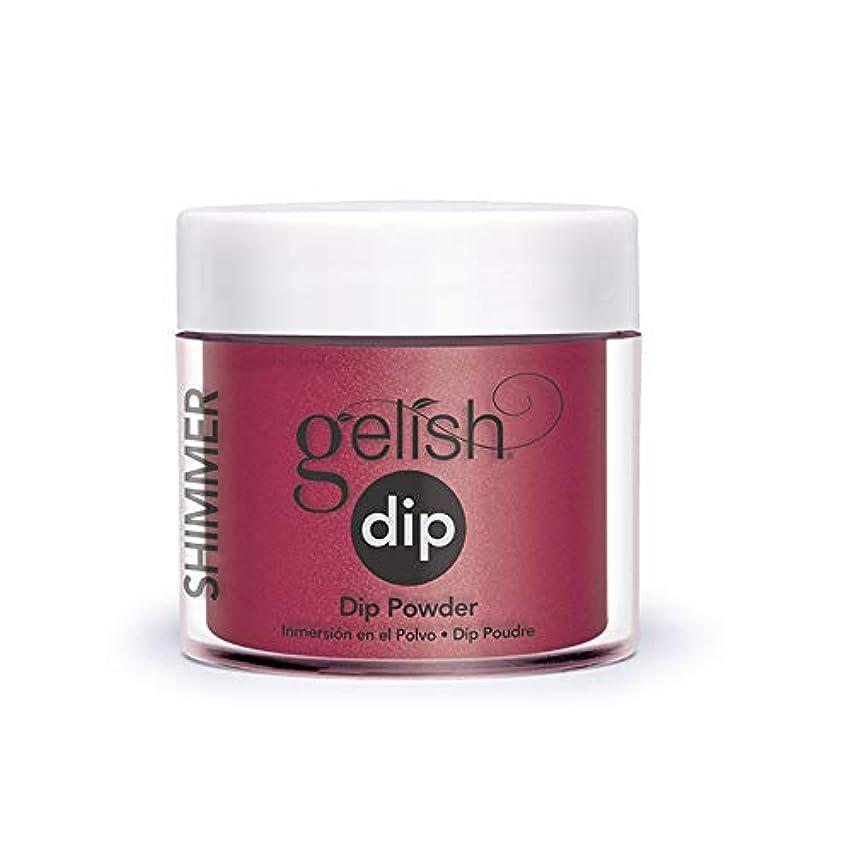 肉の約束するスイングHarmony Gelish - Acrylic Dip Powder - Wonder Woman - 23g / 0.8oz