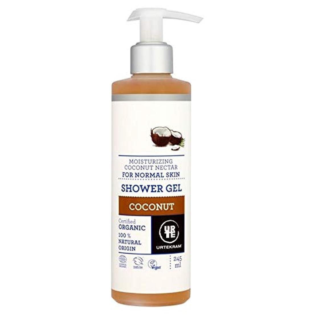 マネージャー可決プライバシー[Urtekram] Urtekramココナッツポンプシャワージェル245ミリリットル - Urtekram Coconut Pump Shower Gel 245ml [並行輸入品]