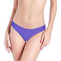 Bikini Bottoms Brazilian Sexy Thong Swimsuits V Cheeky Ruched Ruffle Beachwear for Women