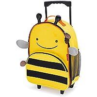 Skip Hop Zoo Kid Rolling Luggage, Bee