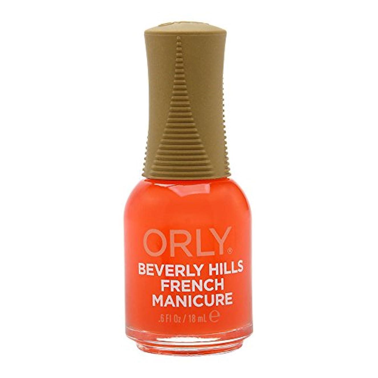 広範囲私たちのもの追い出すOrly Nail Lacquer - French Manicure - Beverly Hills Plum - 0.6oz / 18ml