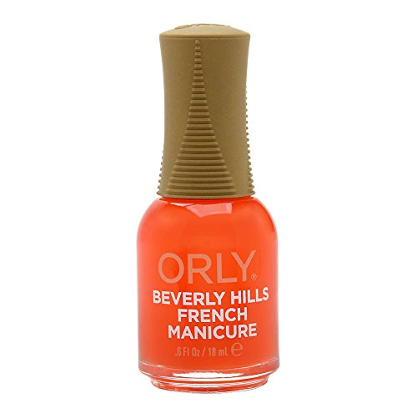 賞賛意義差し引くOrly Nail Lacquer - French Manicure - Beverly Hills Plum - 0.6oz / 18ml