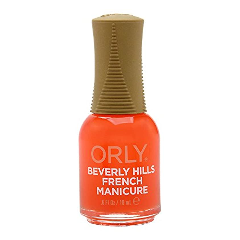 走るあざ触覚Orly Nail Lacquer - French Manicure - Beverly Hills Plum - 0.6oz / 18ml