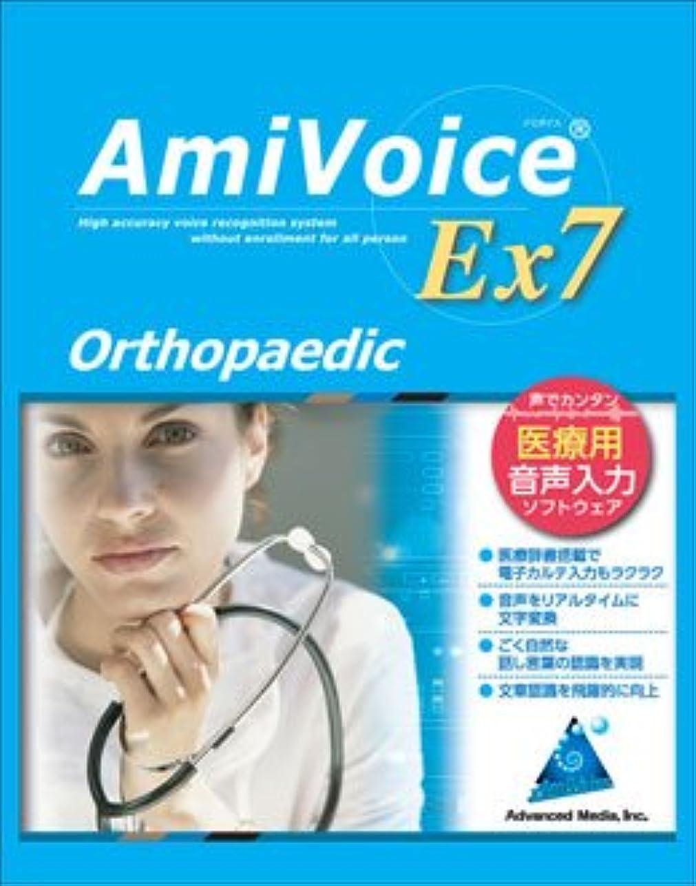 大工神秘ぺディカブ医療用音声認識ソフト AmiVoice Ex 7 Orthopaedic(整形外科)