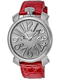 8cdedbb696 [ガガミラノ]GaGa MILANO 腕時計 MANUALE 40MM シルバー文字 ...