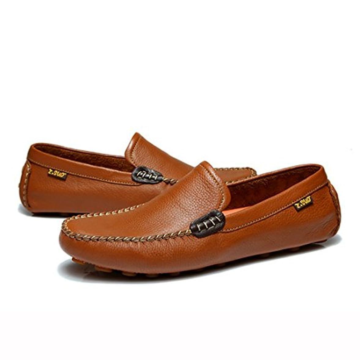 ぼかすセーターブラウザUrsmart17 ドライビングシューズ メンズ 本革 おしゃれ スリッポン カジュアル 紳士靴 ブラック ブラウン 24.5cm-27.0cm