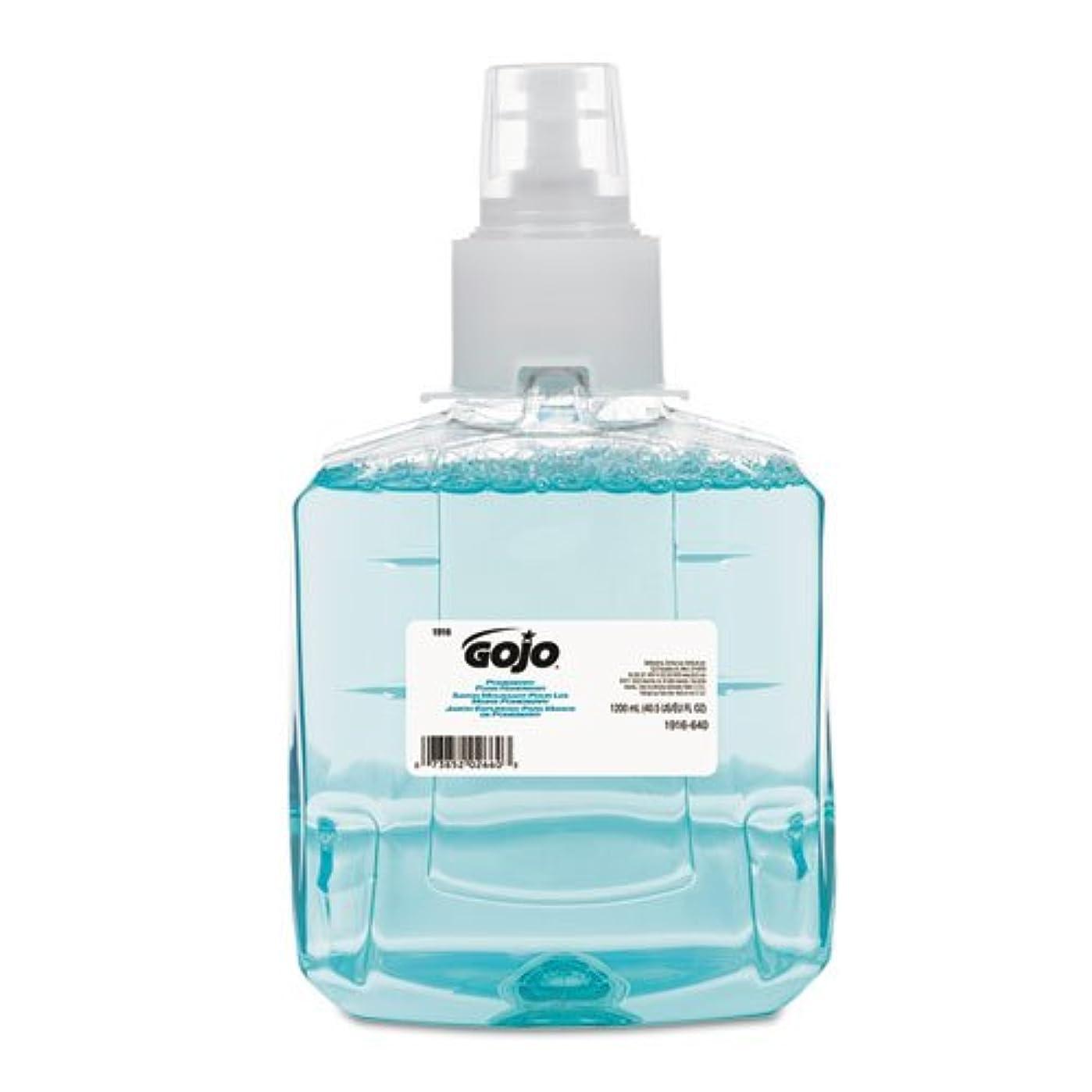 フットボール雪のラグgo-jo Industries 191602 CT Pomeberry泡手洗いリフィル、ザクロ、1200 ml詰め替え、2 /カートン