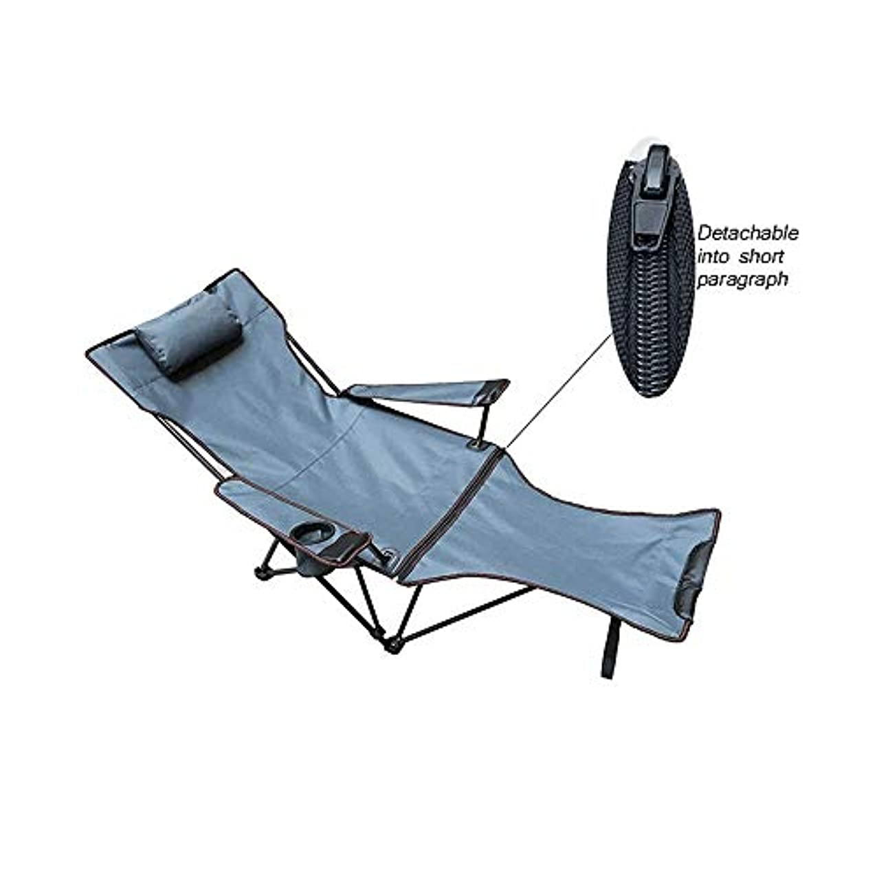 トラップインチ検査官ラウンジチェアリクライニングキャンプリクライニングチェア、屋外旅行用アームレスト付きポータブル調整可能な折りたたみ怠Laな椅子ビーチガーデンサンフィッシングチェアオフィスラウンジチェアチェア,B、170x70cm