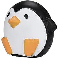 2018最新Slow Rising Squishiesジャンボ、toamen Dreamlikeユニコーン香りつきSquishyチャームSlow RisingシミュレーションKid Toyキーセル電話ペンダントストラップギフト、12105 CM (11 cm Penguins)