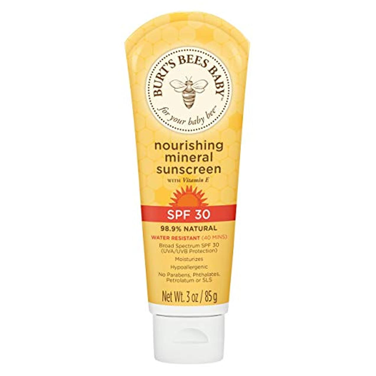 初心者リルリルBaby Nourishing Mineral Sunscreen SPF 30