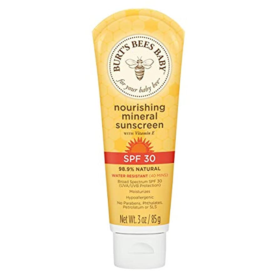 磁気ようこそラケットBaby Nourishing Mineral Sunscreen SPF 30
