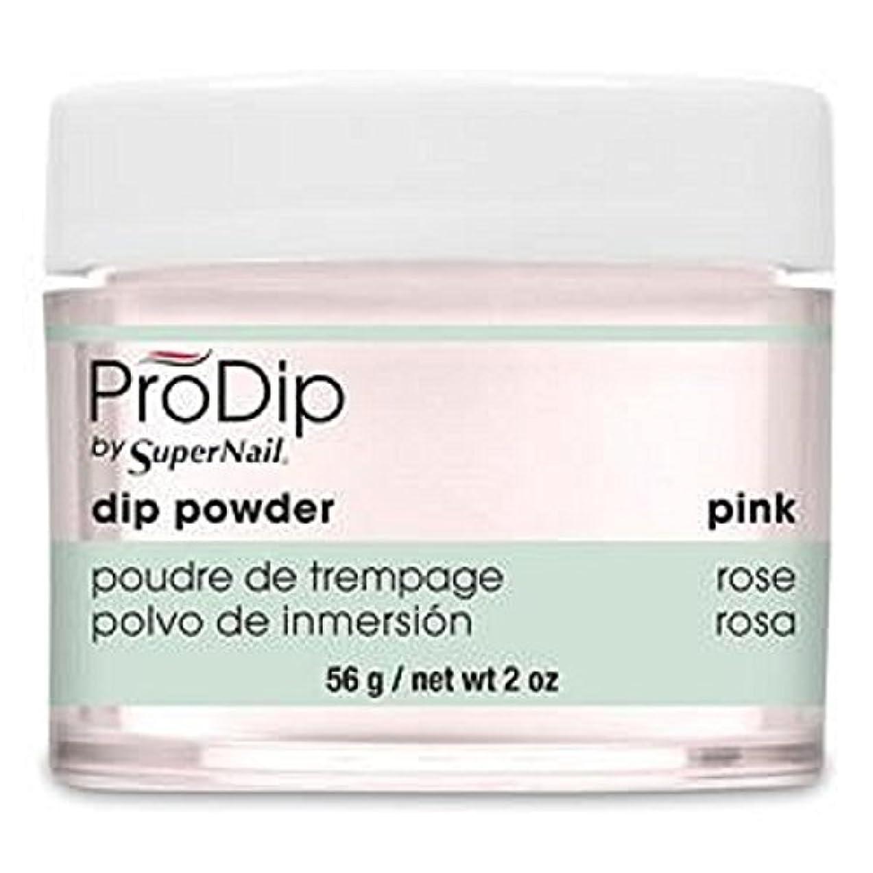 ジャンピングジャックお金ゴム真実にSuperNail - ProDip - Dip Powder - Pink - 56 g/2 oz