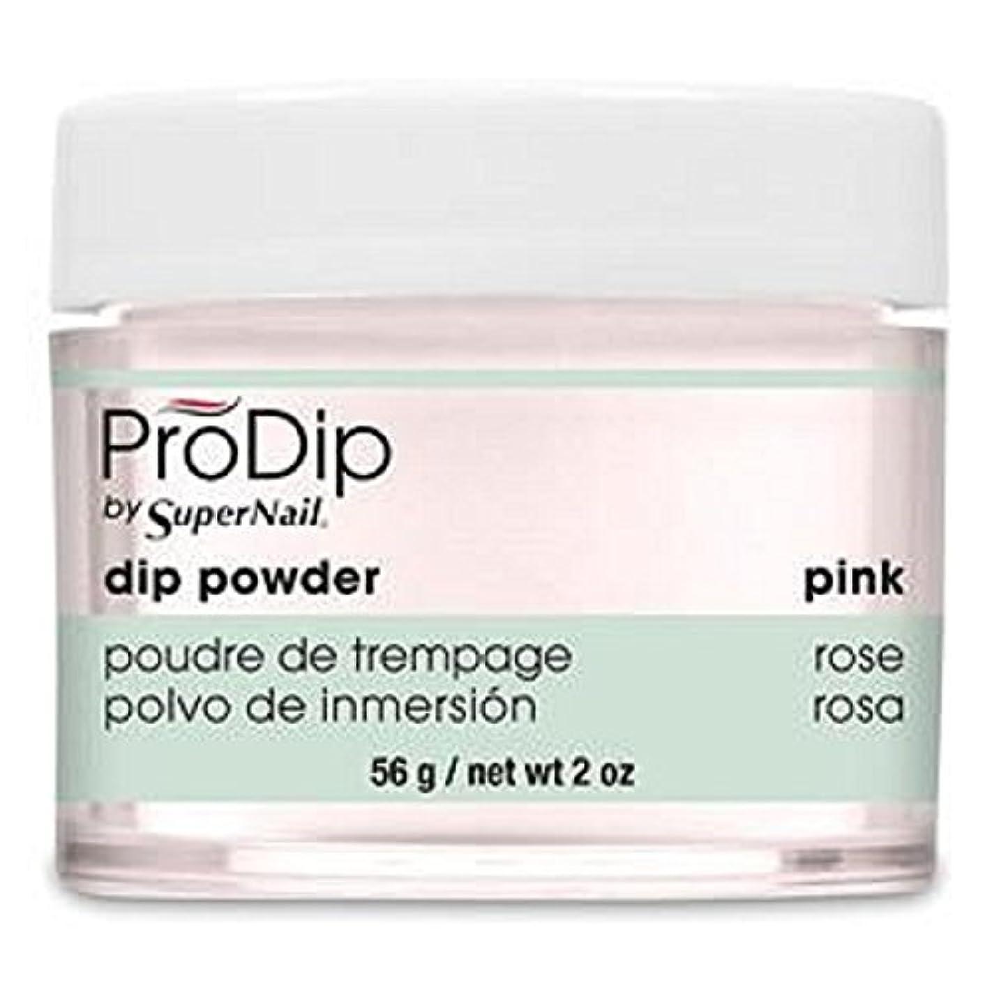 蛾放射能プロフィールSuperNail - ProDip - Dip Powder - Pink - 56 g/2 oz