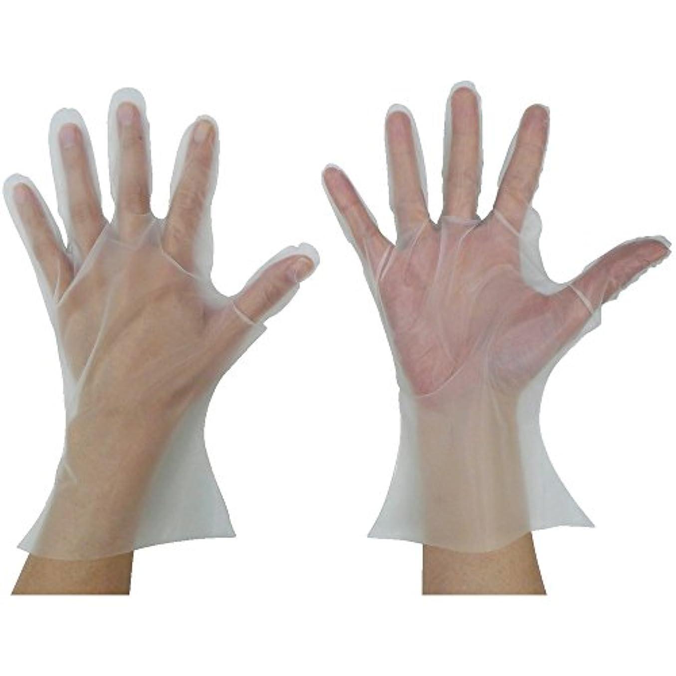 メドレー妖精主張東京パック マイジャストグローブエコノミー化粧箱ML 半透明 MJEK-ML ポリエチレン使い捨て手袋