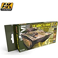 AK Interactive US Army & USMC Camouflage Colours 4220