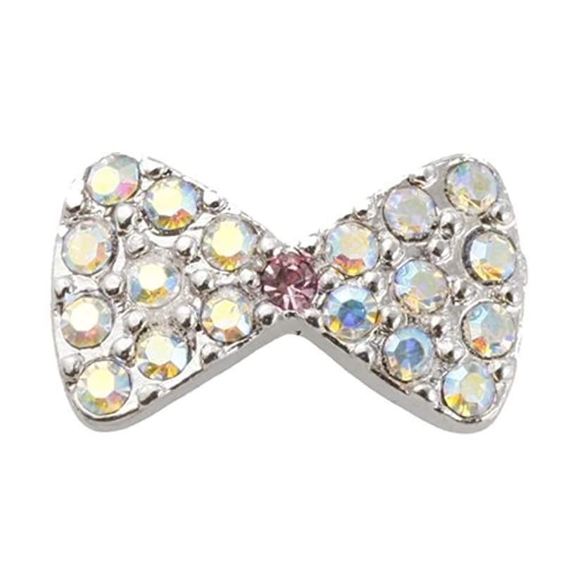 真珠のような軽減インディカエムプティ ネイルパーツ プリティリボン A006 1個