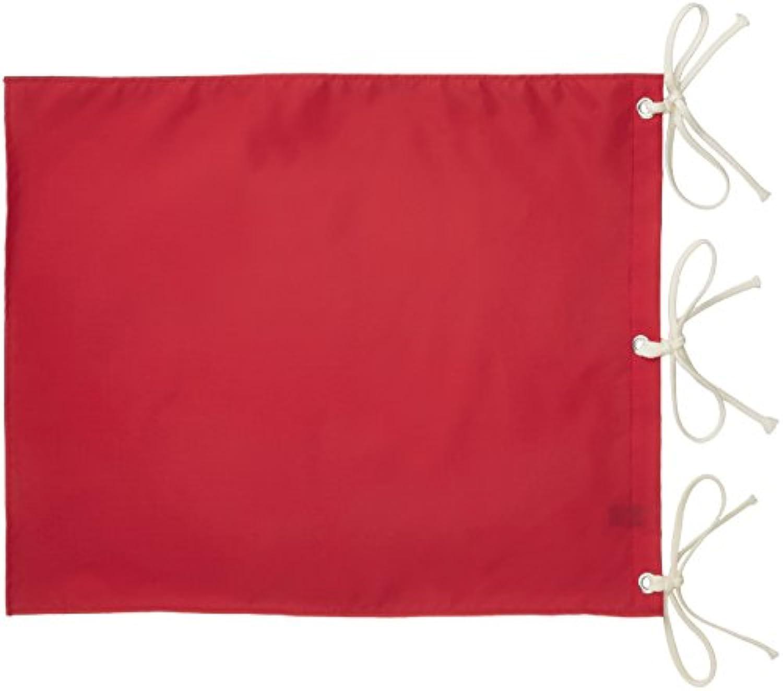 ライト(LITE) ゴルフ場用品 ナイロン 無地 四角旗 赤  M122 赤