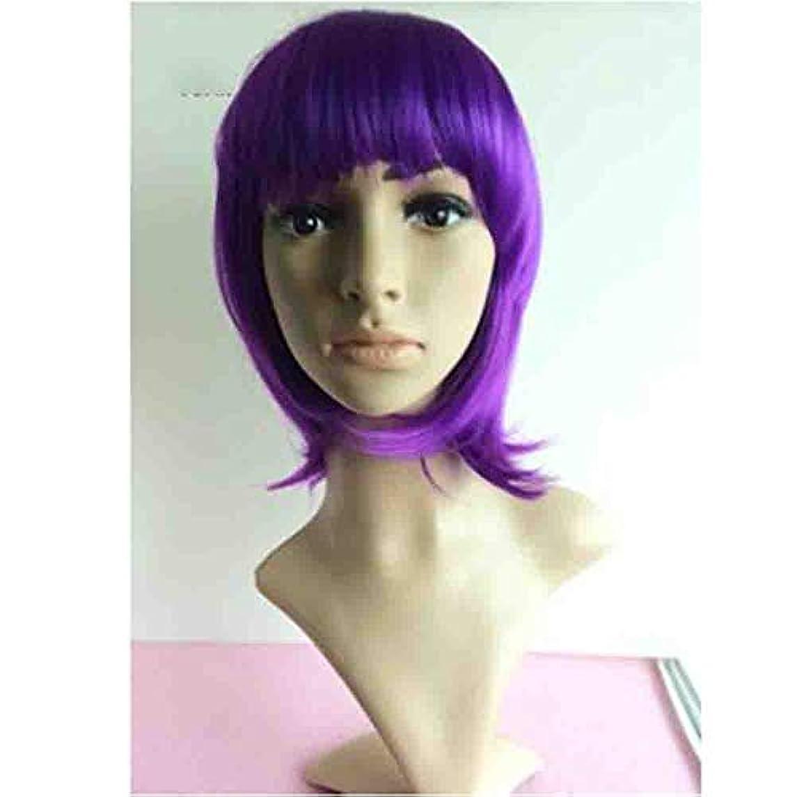 短命伝染病生産的女性のための色のかつら、ロリータショートポニーテールコスプレウィッグ、高密度温度合成かつらコスプレヘアウィッグ、耐熱繊維ヘアウィッグ
