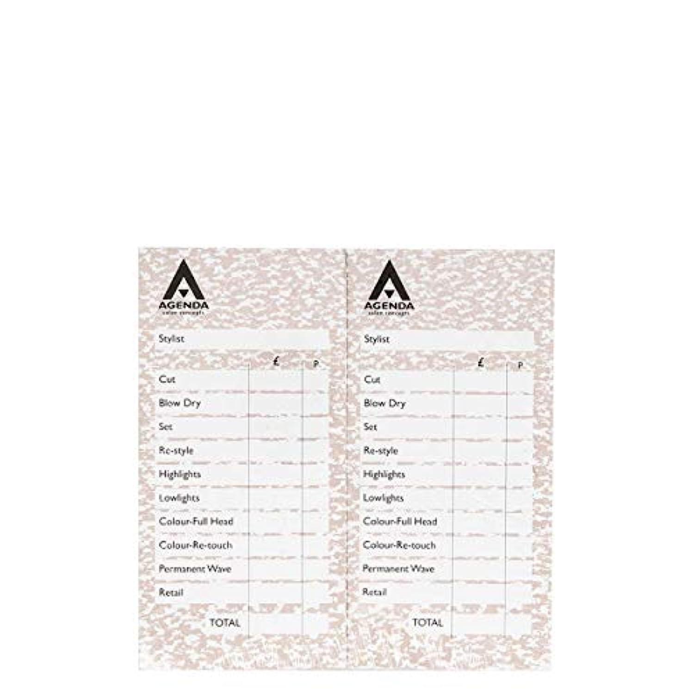 本物の章一時的アジェンダ サロンコンセプト チェックパッドベージュ12x100リーフ[海外直送品] [並行輸入品]