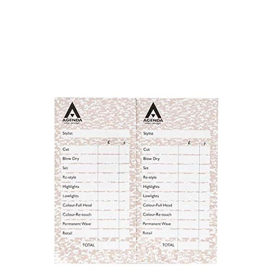 やさしい切手バルコニーアジェンダ サロンコンセプト チェックパッドベージュ12x100リーフ[海外直送品] [並行輸入品]