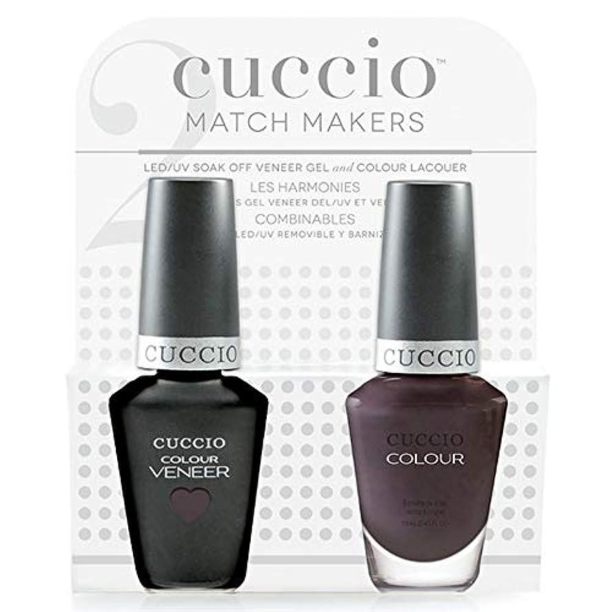 確認事実ドライCuccio MatchMakers Veneer & Lacquer - Pulp Fiction - 0.43oz / 13ml Each