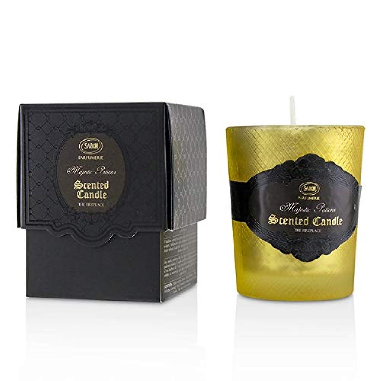 普遍的な存在する集めるサボン Luxury Glass Candle - Fireplace -並行輸入品